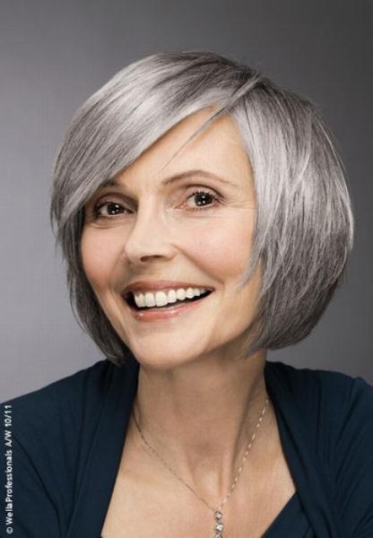 Стрижки на редкие тонкие волосы для пожилых
